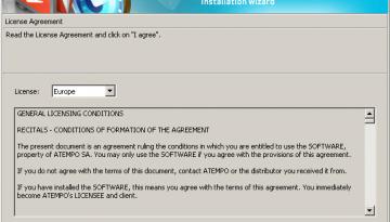 Accettare la licenza - Time Navigator 4.2