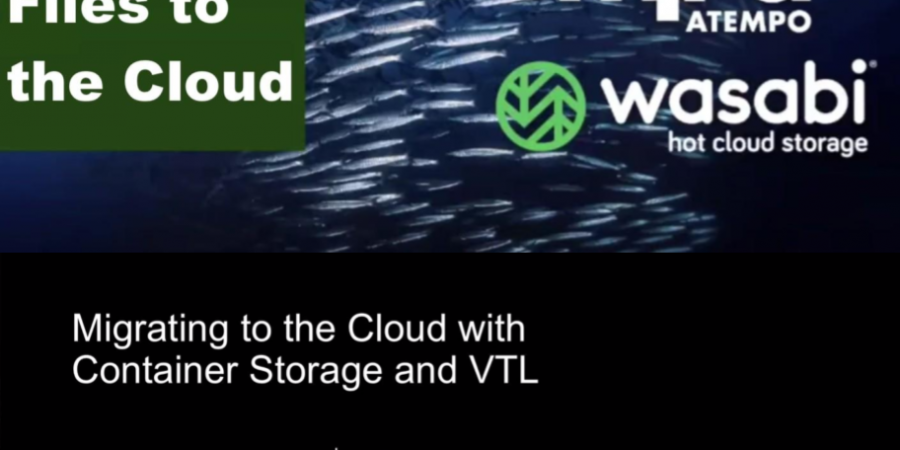 Atempo e FalconStor stringono accordi con il cloud provider Wasabi