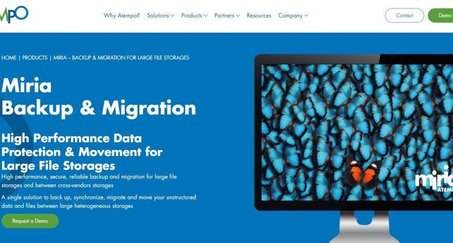 Atempo Miria: spostare, migrare, proteggere e archiviare petabyte anche con il supporto di Lustre