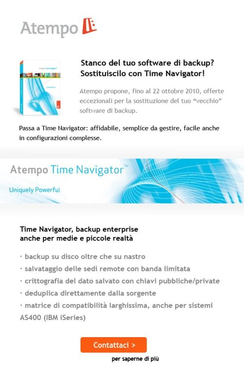 Atempo Time Navigator: Maleva Direct Email Marketing 3