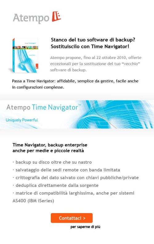 Atempo Time Navigator: Maleva Direct Email Marketing 3