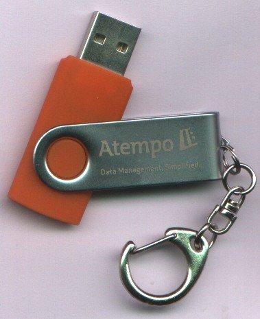 Atempo: chiavetta USB con demo LiveBackup