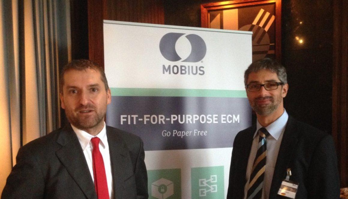 Michele Pozza e Roland Mackert, Content Compliance Roundtable, Londra