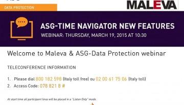 Webinar ASG Time Navigator 4.4.x - slide 1