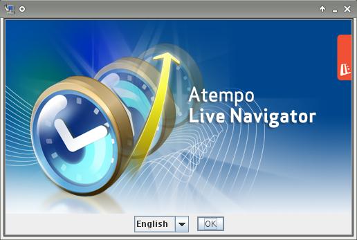 installazione live navigator su linux: Scelta lingua