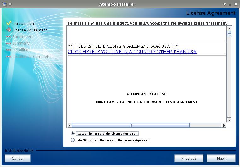installare live navigator su linux: license_agreement