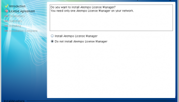 installare live navigator su linux: license manager