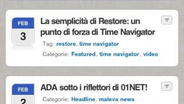 iPhone Maleva home page