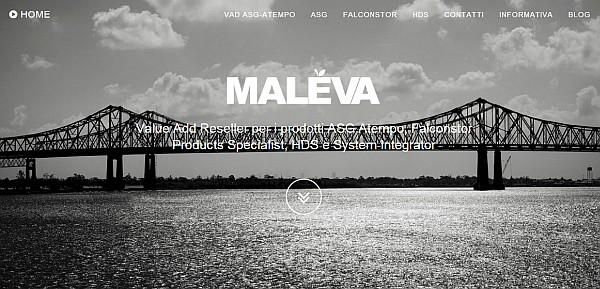 nuovo sito Maleva html5