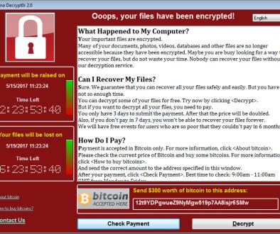Il cracker WanaCryptor 2.0 responsabile del recente attacco